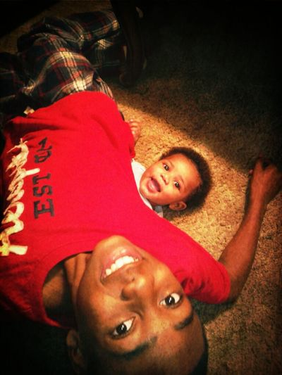 Jr && Landen acting silly