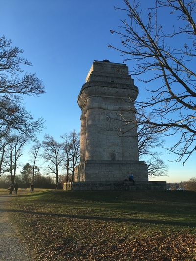 Bismarckturm Augsburg Travel Travel Destinations Past The Past Bismarck Tower Bismarckturm Bismarck Germany Augsburg Sky Plant Built Structure Tree Architecture Nature Building Exterior Clear Sky History Outdoors Blue The Past Tower Field Day Go Higher EyeEmNewHere