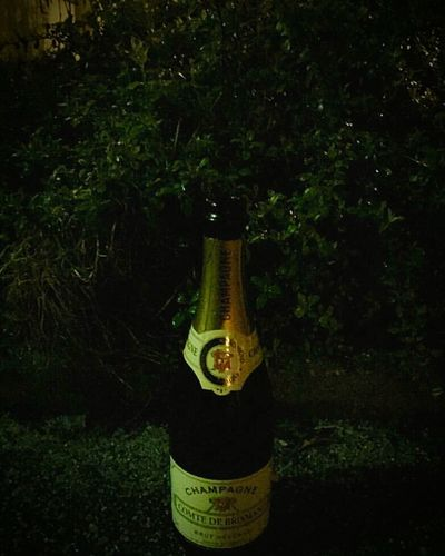 Yesterday's party's results Bottle Champaign Bottle Champaign Night Photography Brunswick Braunschweig
