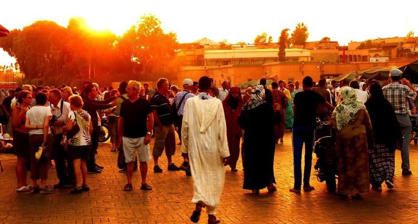 Showcase July Traveling Marrakech People Together