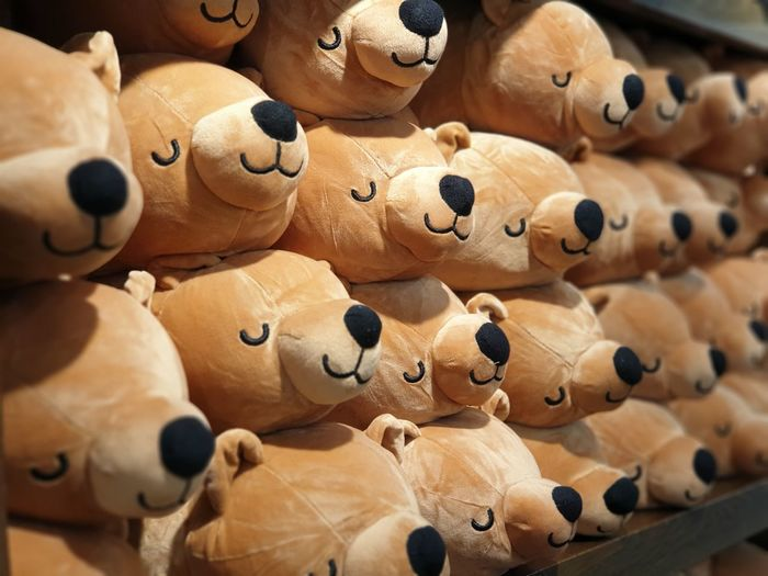 Toy Soft Toys Variation Close-up For Sale Shop Retail Display Various Price Tag Stuffed Toy Display Market Stall Craft Product Market