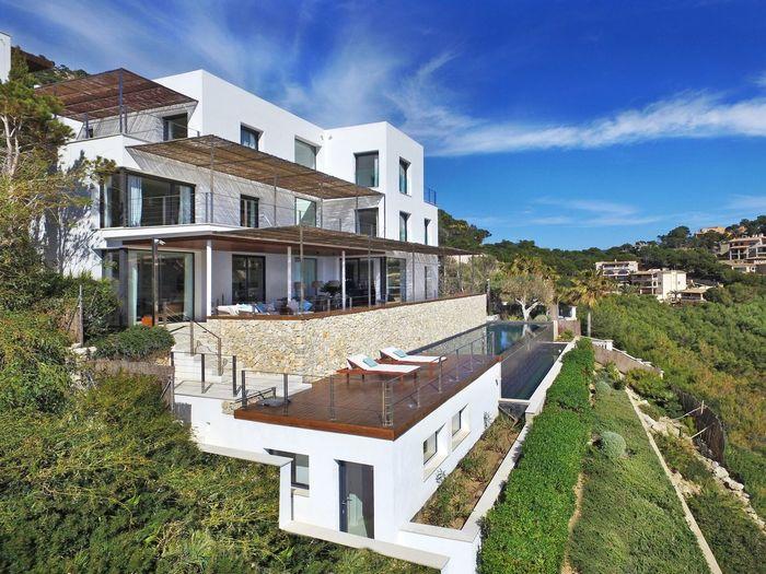 Villa mallorca Mallorca Property Real Estate Villa Built Structure Building Exterior Architecture Building Plant Sky Cloud - Sky