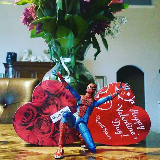 TA DA!!! Day 14 of Fwebruary and Spidey wants to know...Will You Be My Valentine