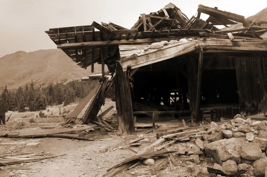 Built Structure Mill Abandoned Mining Heritage Ghosttowns Colorado Photography Mining Mining History Of America Colorado Weathered Destruction