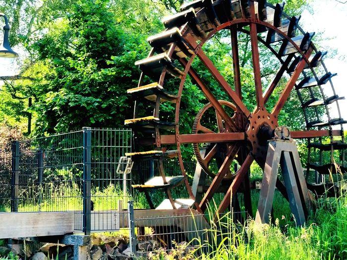 Water Wheel No