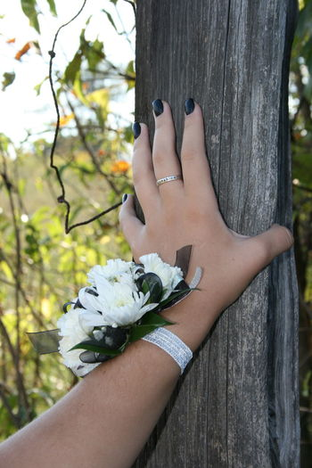 Homecoming Old And New Silver Ring You Are My Sunshine Adult Beauty In Nature Black Finger Nails Close-up Corsage Day Fence Post Flower Human Body Part Human Hand Lifestyles Nature One Person Outdoors People Real People Women