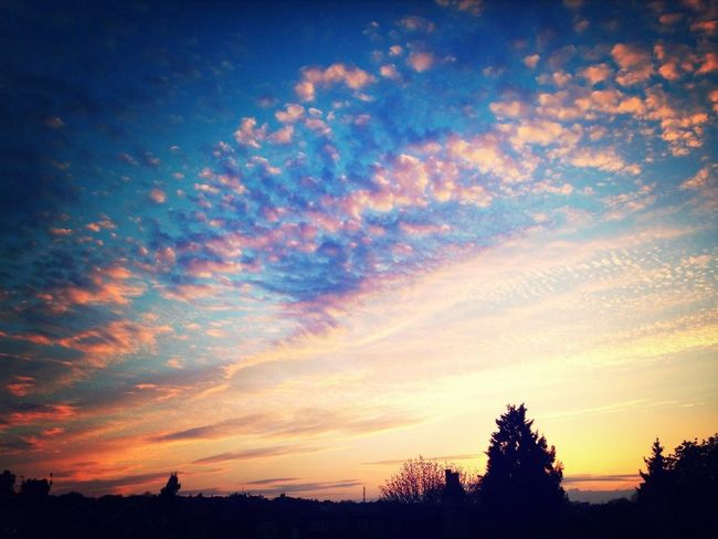 Sun Skyline Clouds And Sky Skyporn