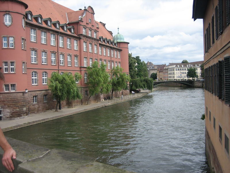 Photos of Strasbourg, France 2007 Old Buildings River Running Water Scenic Sky And Clouds Tranquil Scene Tranquility Water