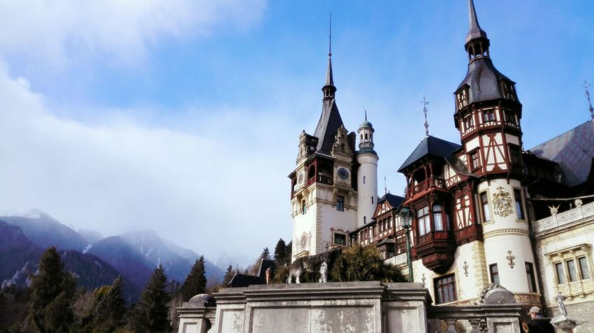 Romania Peles Castle Unesco Transylvania Travel Destinations Architecture History