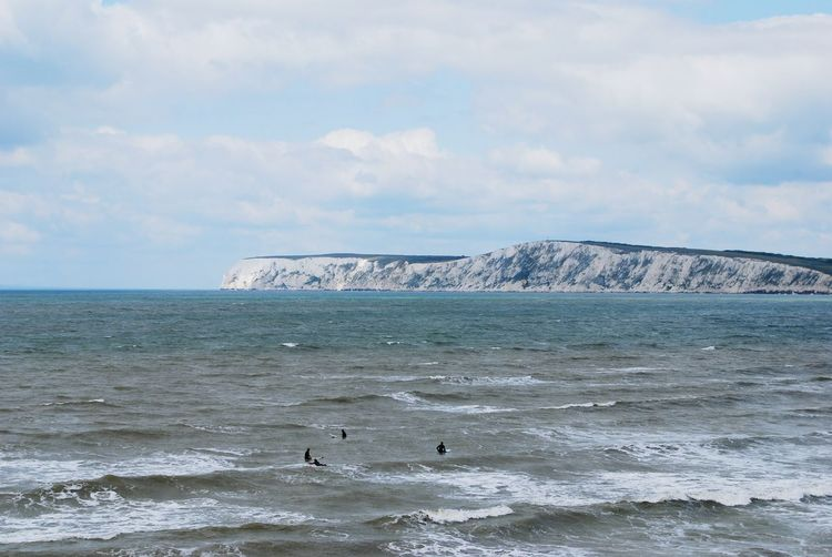 Water Sea Outdoors Beach Nature Day Landscape Sky No People White Cliffs