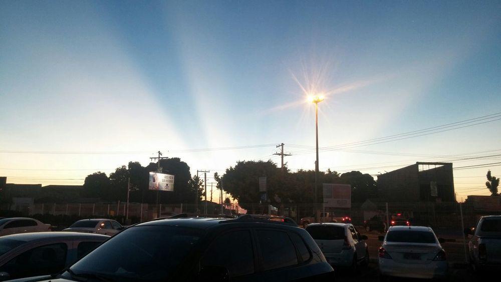 Sunset Por Do Sol Feira De Santana No Filter Lg G2