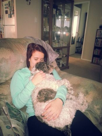 cuddling♥ Playing With The Animals