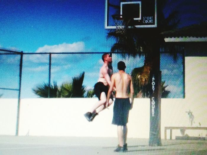 Youth Of Today Enjoying Life Photos By Jeanette Having Fun Capturing Movement Capture The Moment Basketball Jumpshot White Men Can Jump Awesome My Son Vacation Cocoa Beach Florida Basketball Court Check This Out Hanging Out Action Shot  Photography In Motion Showing Imperfection Up Close Street Photography