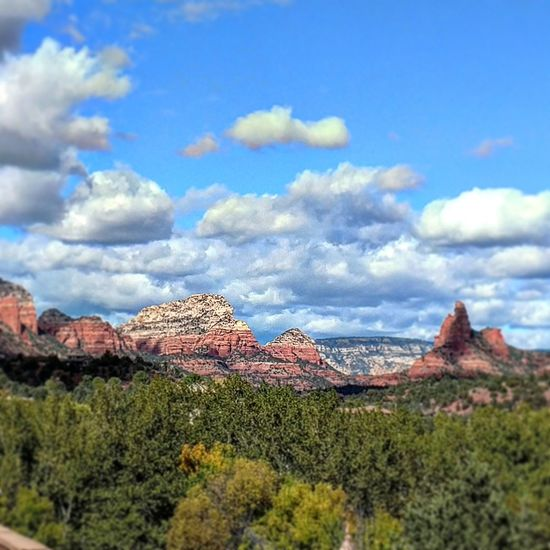 Sedona, Az Cloud - Sky Sky Blue Nature Beauty In Nature AriZona♡