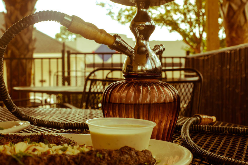 Dish Greek Mediterranean  Chill Close-up Day Eat Freshness Hookah Kabob No People Outdoors Relax Resturant