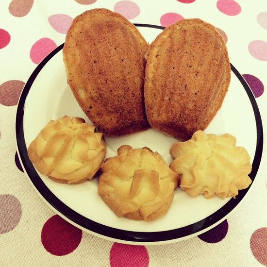 Madeleines Bakery Cookies Dessert 星期六甜點課,好好玩~