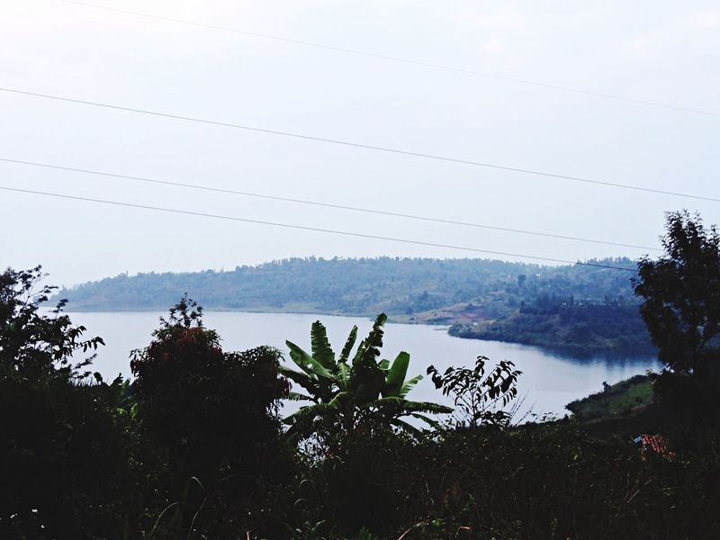 Rwanda Nature Lake Rwandan Africa Summer Holiday