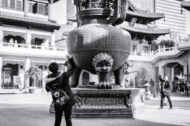 The Street Photographer - 2017 EyeEm Awards Temple Buddhism Spirituality Religion China Shanghai Real People Architecture