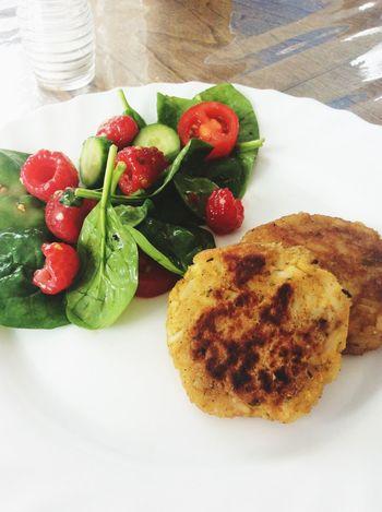 Vege Vegetarian Food boulette Lentille Corail Et Riz What's For Dinner? Lowcarbdiet Food Food Porn Foodphotography