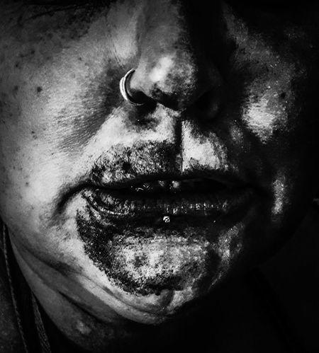 chocolate. Chocolate Gruesome Blackandwhite Human Face Portrait Human Nose Black Background Close-up Nose Human Lips Chin