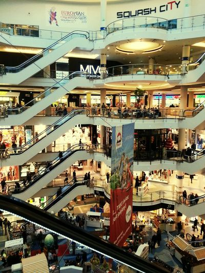 Shopping Warsaw Poland Blue City Weeken Free Day Relaxing Meeting Friends Poland Bulding