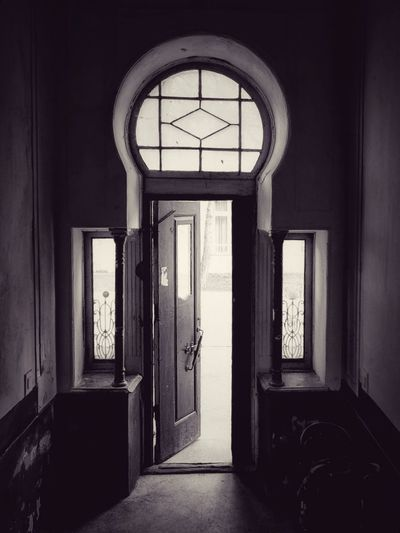 Window Door No People Indoors  EyeEm Gallery Old Town Crimea, Ukraine Evpatoria Евпатория Residential Building House Retro Style Built Structure Architecture Open Door Abandoned Buildings Abandoned Doorway DoorsAndWindowsProject Doorsworldwide Doors With Stories Doors From The Past