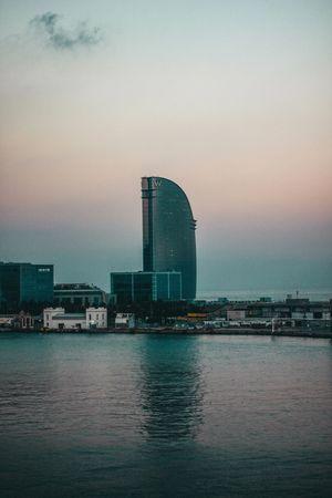 //W. Reflex Hotel Urbanexplorer Composicion Art Structure Colour Your Horizn Built Structure Architecture Water Sky No People Sea Building Exterior Waterfront