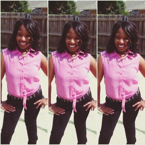Earlier today ! Oweeee Birthdayflow  I'm Mee
