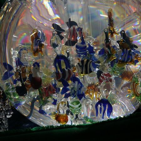 Glassart Glass Fish Wathercolor Mexico Mexicocity  GlassFish Art