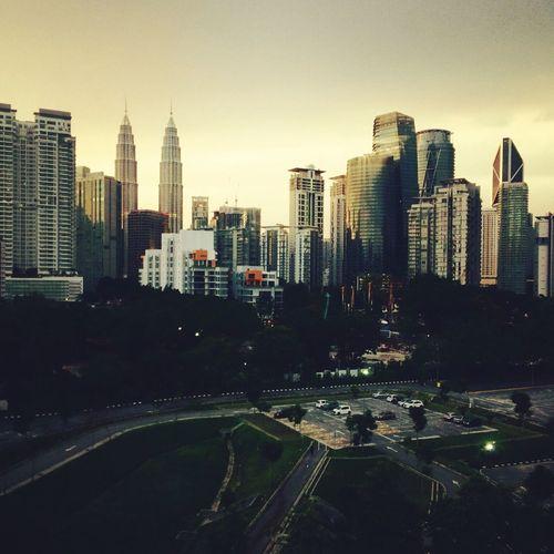 Kuala Lumpur City Sunset Architecture City Skyscraper Office Building Malaysia Sunset First Eyeem Photo