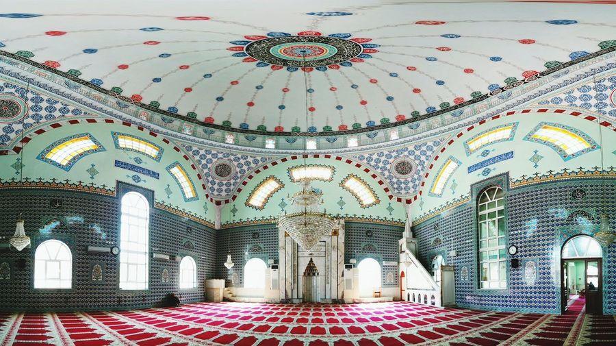 Interior Of Empty Mosque