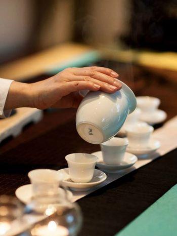 Tea ceremory
