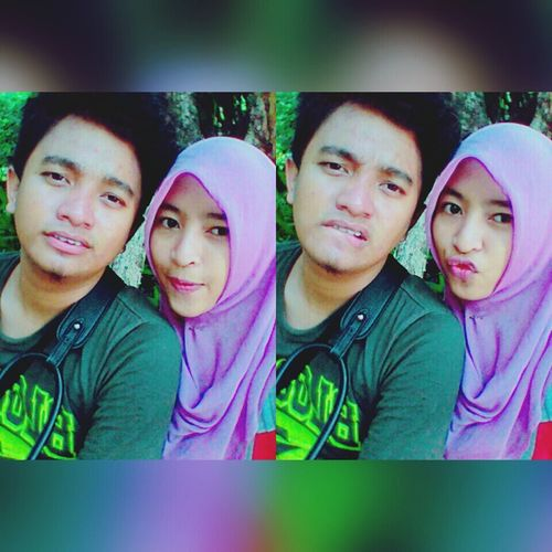Wasting holiday with 💑