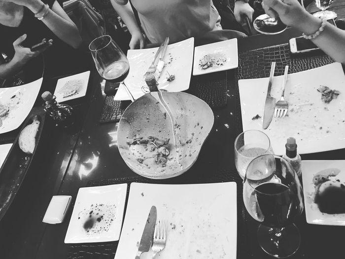 Dinner Indoors