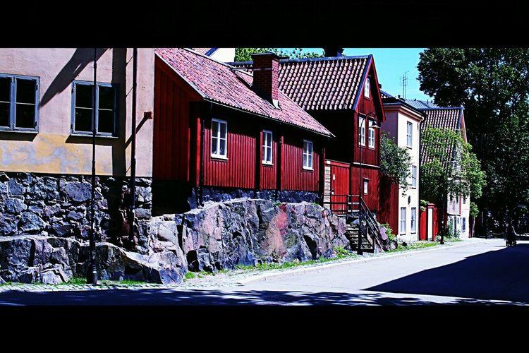 Favorit I Repris Old House Streetphotography Stockholm EyeEmBestPics
