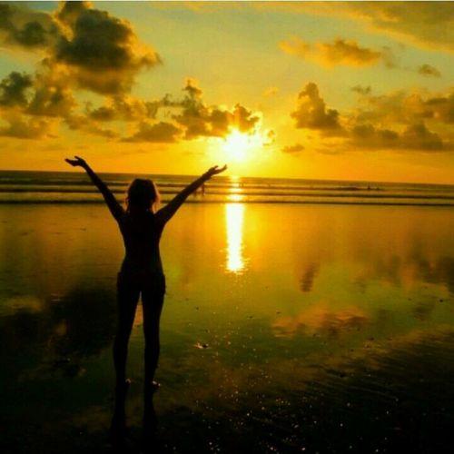 Sunset Beach Landscape Costa Rica