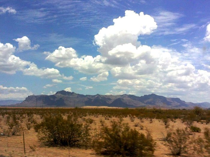 Superstition Mountain in Apache Junction, AZ . I just love this mountain Clouds And Sky Azdesert Beautiful ❤ Desert!!