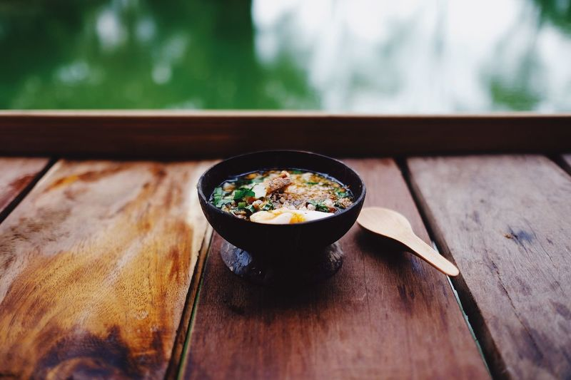 Bowl Food And Drink Healthy Eating Food Table Soup Vegetable Freshness Japanese Food Indoors  Wood - Material Chopsticks No People Vegetarian Food Close-up Ready-to-eat Day