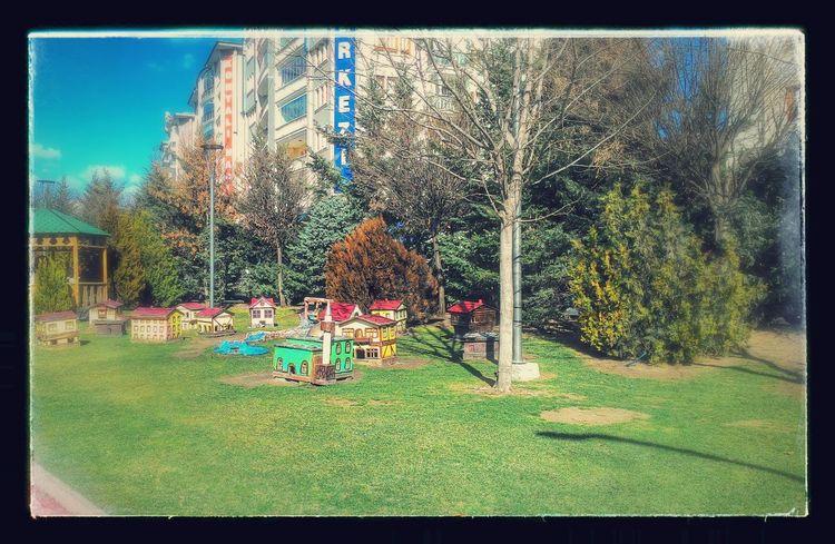 Ankara Minicity Olcay Özfırat Park Playground Turkey