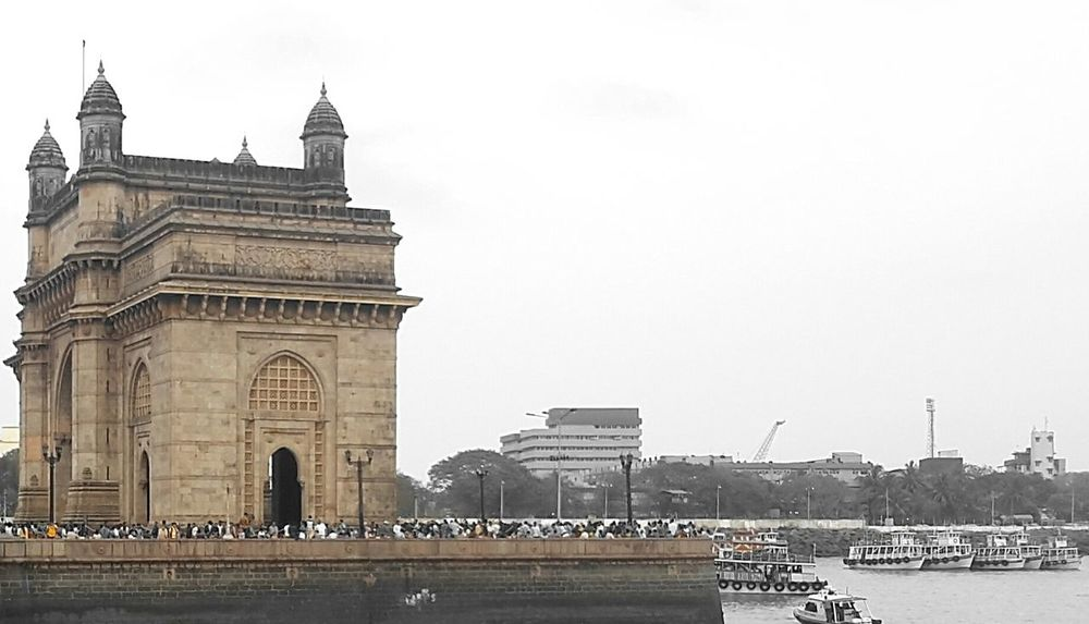 Sea Ocean View Landscape Urban Spring Fever Boats Yacht Gatewayofindia