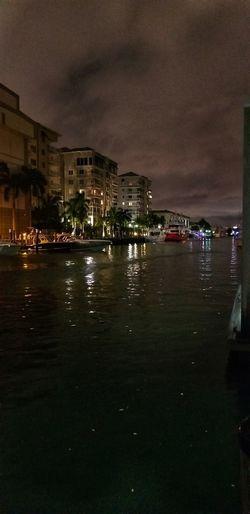 City Water Cityscape Sea Nautical Vessel Illuminated Reflection Nightlife Politics And Government Sky