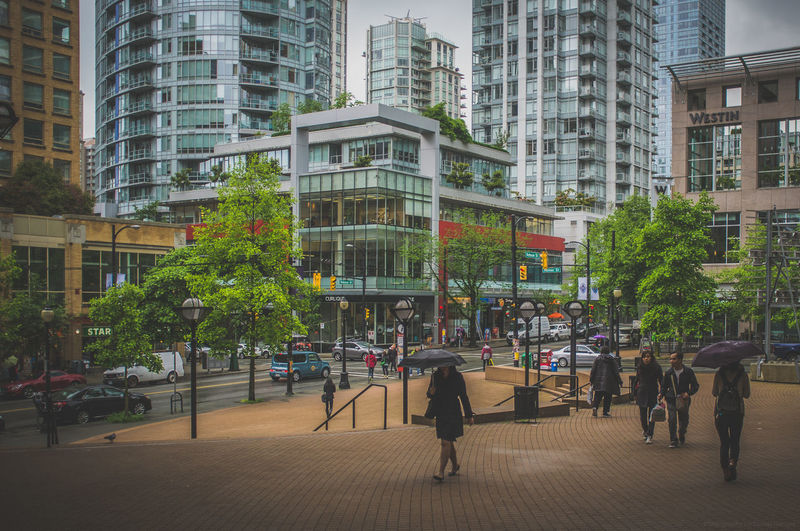 Best city in the world! Vancouver in Canada! Architecture Beautiful Bestcity Bestcityintheworld British Columbia Britishcolumbia Canada City Cityscapes Fujifilm Fujifilm_xseries Highrise Highrisebuilding Highrises Kanada Rain Rainy Day Rainy Days Skyscraper Skyscrapers Street Photography Streetphotography Vancity Vancouver Vancouver BC