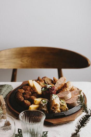 Romanian traditional christmas food