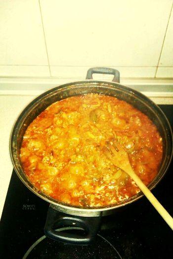carnesica en salsa