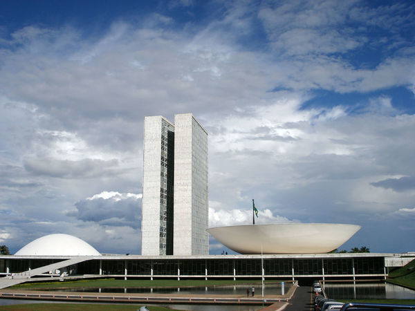 Architecture Brasil Brasília Built Structure City Life Cloud - Sky Day Dilma Roussef Famous Place Impeachment Large Michel Temer Modern Outdoors Planalto Central Sky Skyscraper Tall - High Tourism Transportation Travel Destinations Vacations