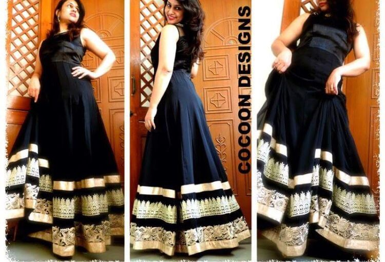 order ur party gown now Well-dressed Disha Joshipura Luxurylifestyle  Party Dress Clothing Brand Indian Beauty Fashion Bhuvan Classy Floor Length Evening Gown Ethnicwear Indian Style Traditional Clothing Lifestyles Indian Woman Designer Clothes