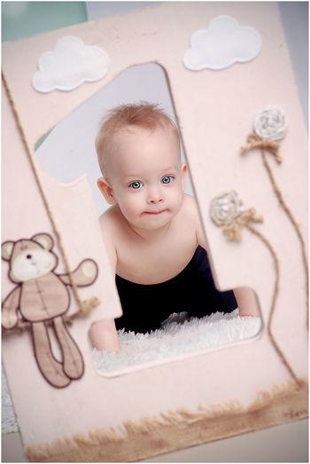 Angelfotó Goreczkifotó Hungary Budapest Studiophotography Birthday Boy Oneyear Childphotography Children