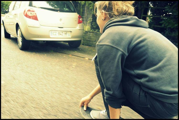 cette sensation Skate♥ Une Passion