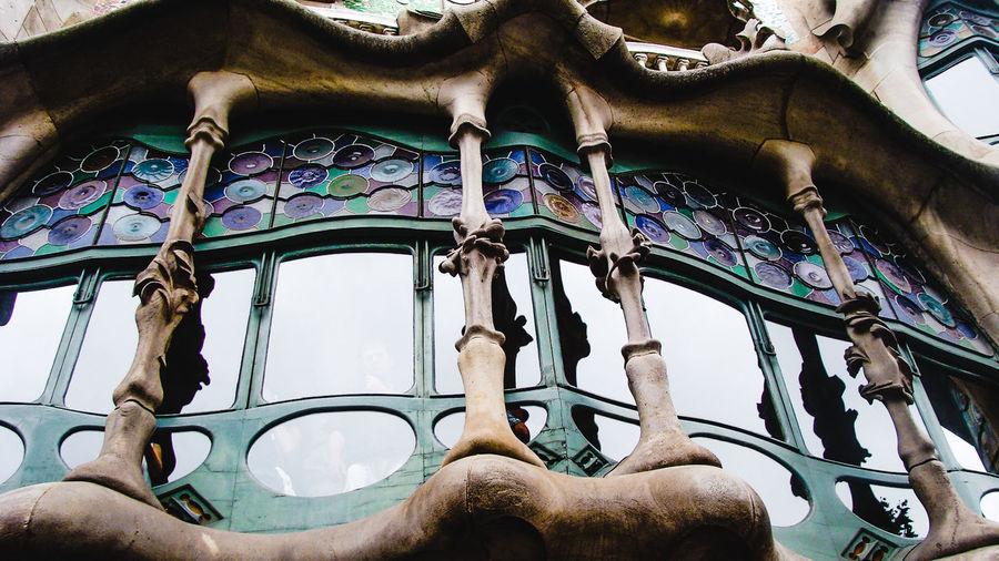 gaudi building elements Architecture Architecture Barcelona Beautiful Building Built Structure Catalunya City Close-up Day Elements Gaudi Gaudi #barcelona Gaudì Architecture Work No People Outdoors SPAIN