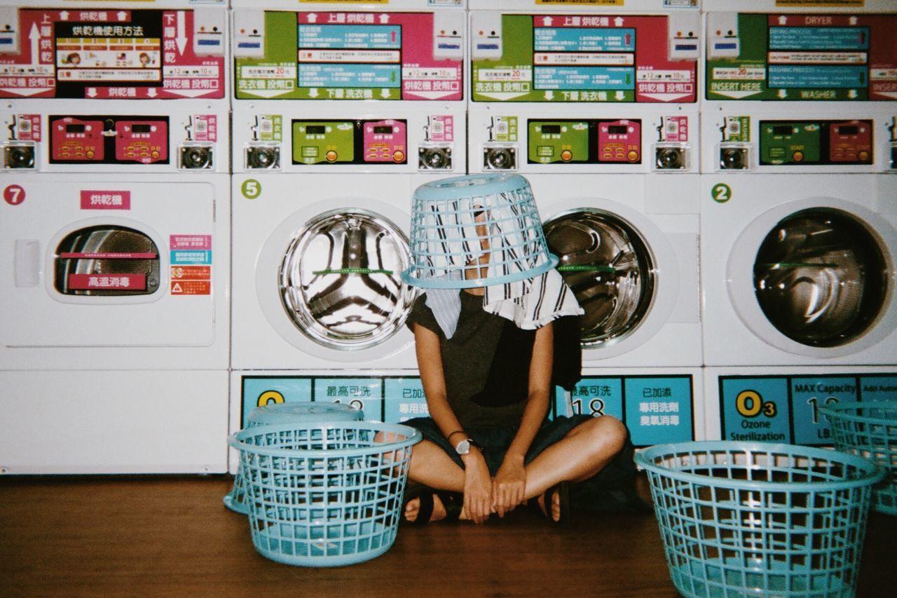 Basket, Covered, Covering, Dryer, Full Length